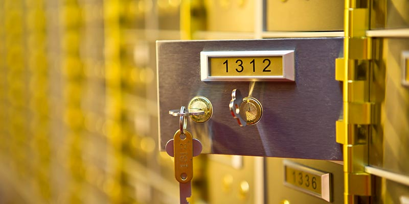Safety Deposit Boxes Barnsley